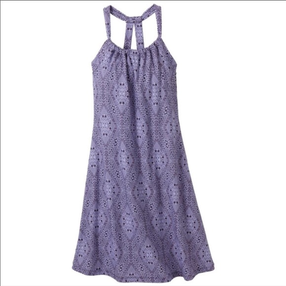 984f870e186 Prana Quinn Sundress Purple Aztec Geometric Sz M. M 5b08d6e831a37606a20ecf42
